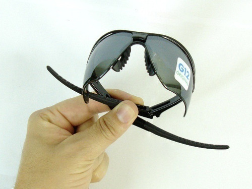 Kit 3 Óculos Nemesis Jackson Armação Preta Lente Fumê Uv Ca - R  139 ... 89c6bab00c