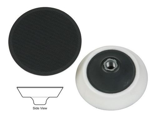 kit 3 pads 6.5 ccs, borla de lana morada y respaldo 6  lake