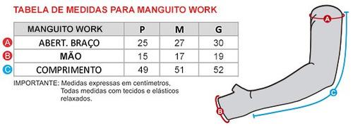kit 3 par manguito manga protetor braço termico  proteçao uv
