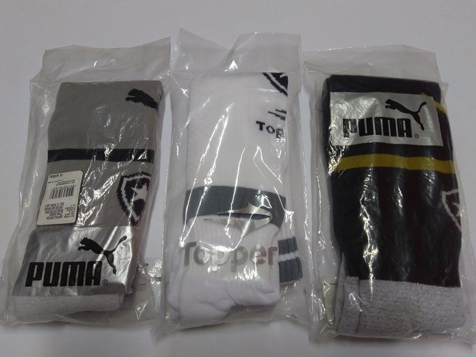 f6556c4371 kit 3 pares meiao botafogo oficial topper puma -temos camisa. Carregando  zoom.