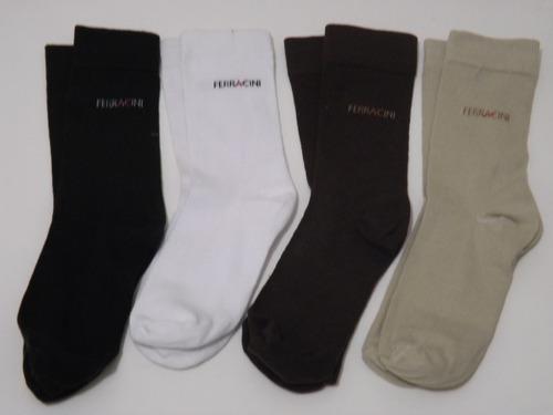 kit 3 pares meias social primeiríssima qualidade