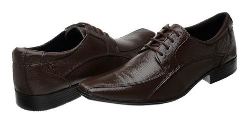 kit 3 pares sapato masculino couro frete grátis ath c l