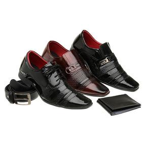 d890b76444 Sapato Envernizado Masculino Preto E Branco Xadrez - Sapatos com o ...
