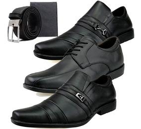 4d9fdcf89 Sapato Social Masculino Couro Legitimo Cinto - Calçados, Roupas e ...
