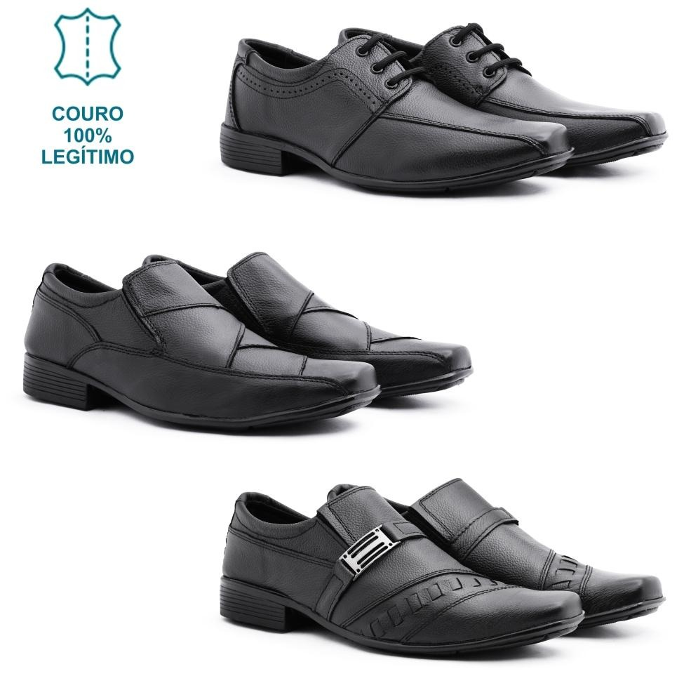 589d66a496 ... sapato social masculino 100% couro vr. Carregando zoom.