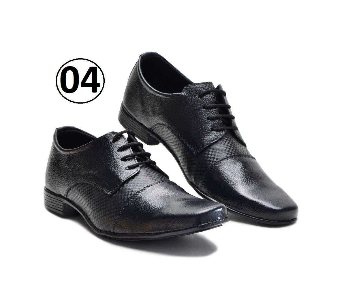 c88719481f kit 3 pares sapato social masculino couro promoção garra 450. Carregando  zoom.