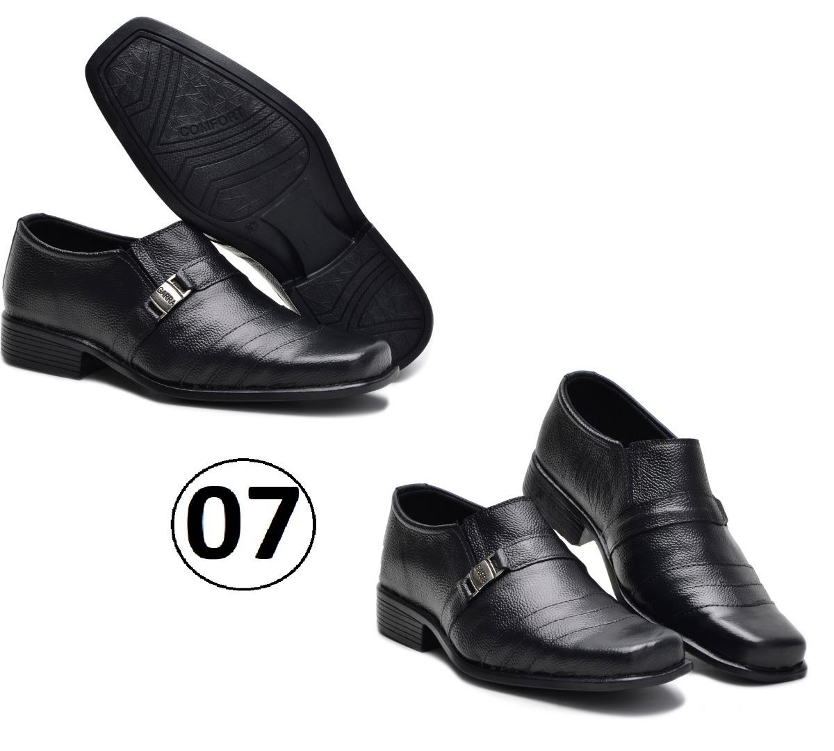 8e1505d818 kit 3 pares sapato social masculino couro vários modelos top. Carregando  zoom.
