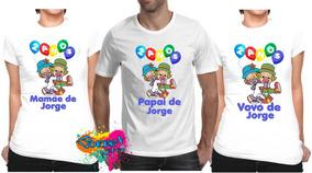 5e0079022b Tema Para Festa 3 Palavrinhas Tamanho U - Camisetas e Blusas para ...