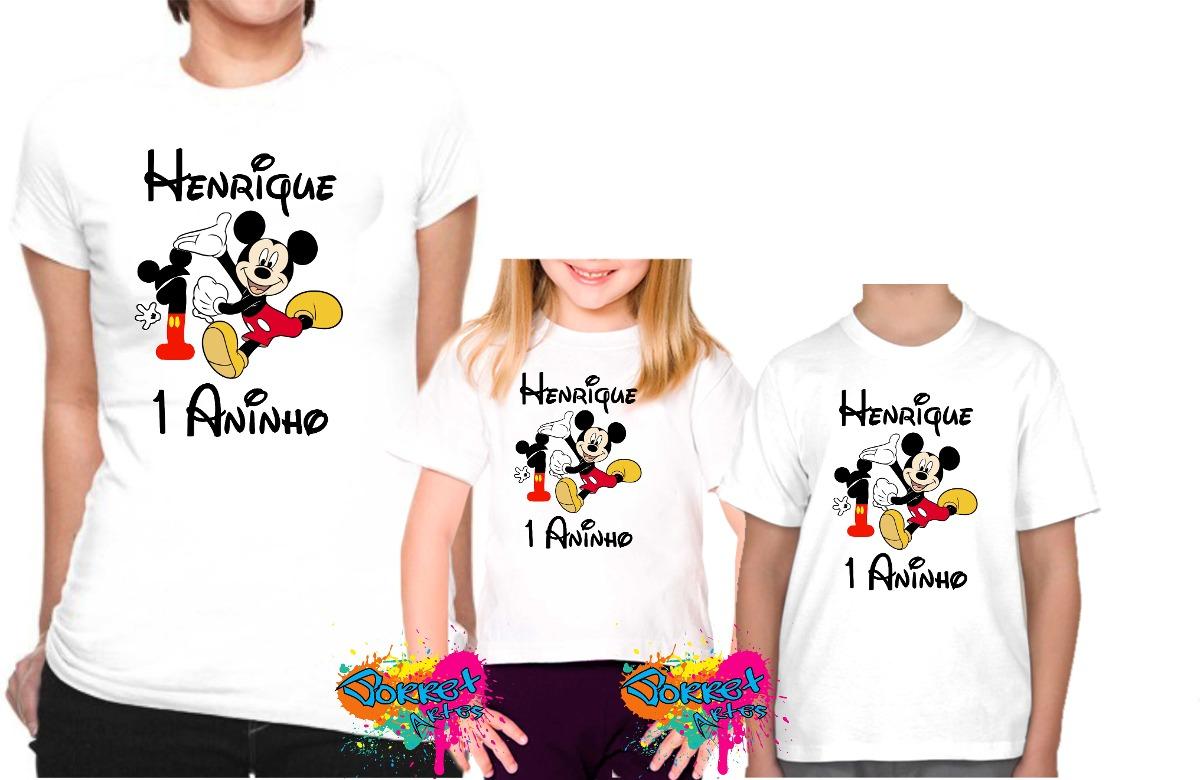 c678871bb0 kit 3 pçs camisa personalizada qualquer tema para festa a3. Carregando zoom.