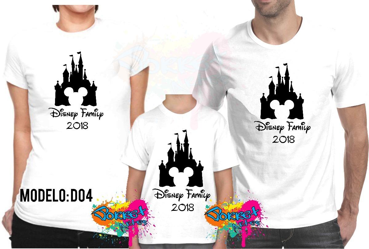 Kit 3 Pçs Camiseta - Camisa Personalizada Viagem Disney - R  64 32afc30549559