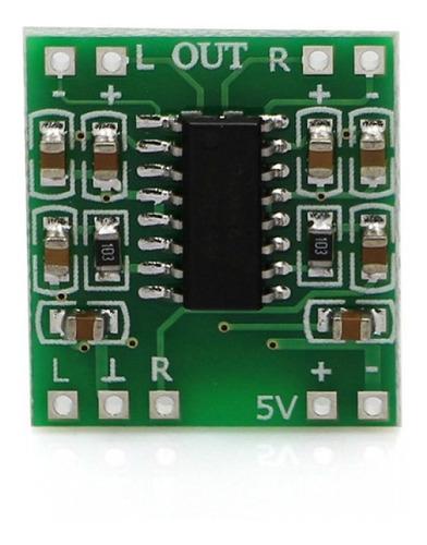 kit 3 peças aplificador mini digital 2x3w 5v pam8403 stereo