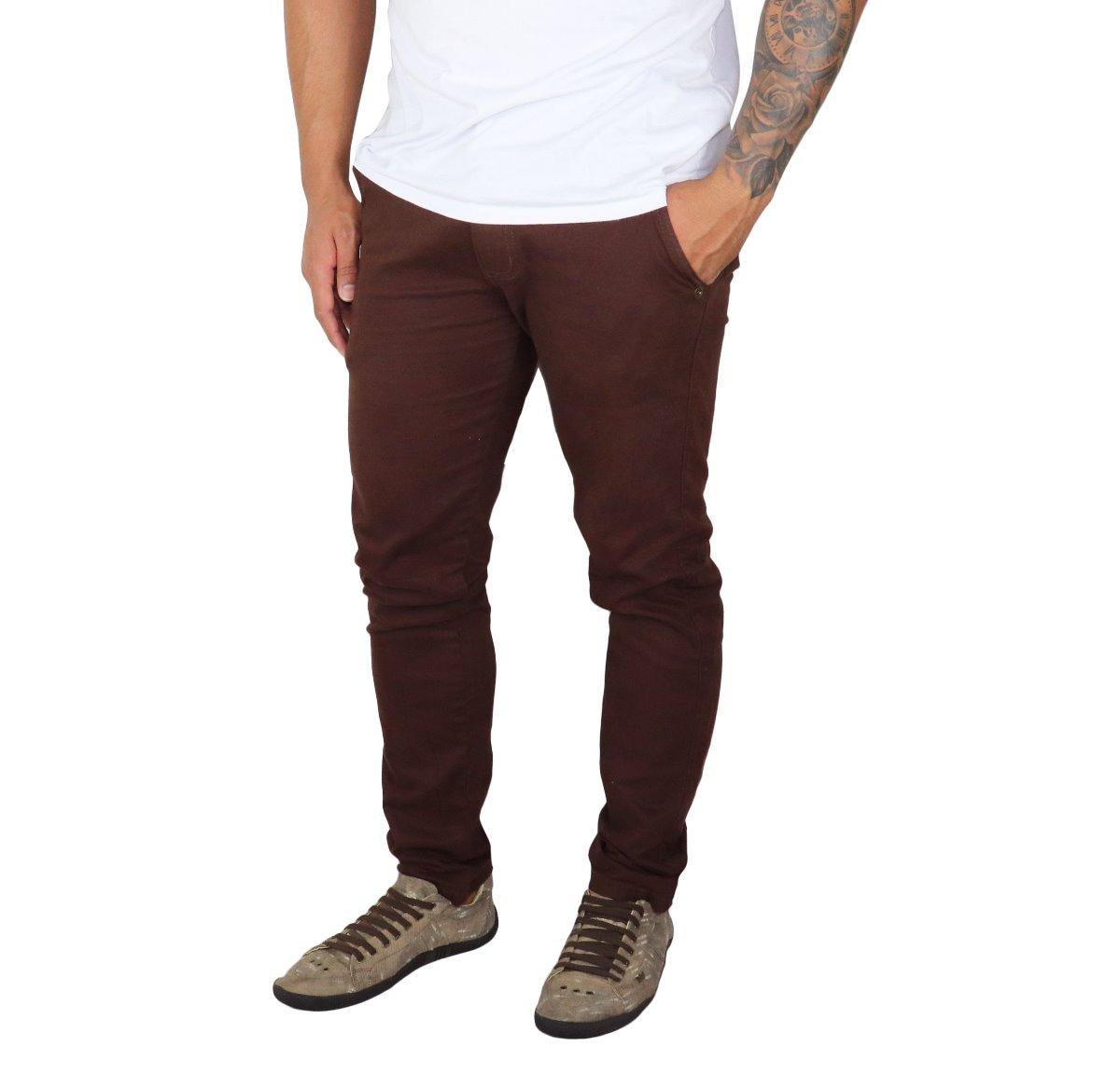 1d14763f2 Kit 3 Peças Calça Jeans Sarja Masculina Slim Skinny C Lycra - R$ 118 ...