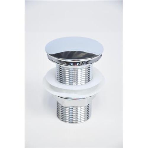 kit 3 peças cuba louça quadrada+válvula click+torneira vidro