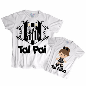 2cdce2b530d821 Santos Kit Camisetas Tal Pai Filho Times Flamengo - Camisetas ...