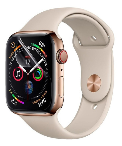 kit 3 pelicula nano gel apple watch 1,2,3,4,5 sem recortes