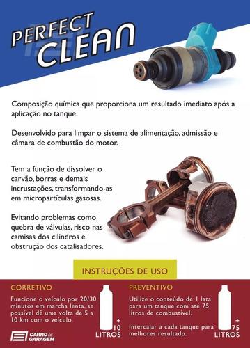 kit 3 perfect clean flex gasolina, etanol e gnv koube