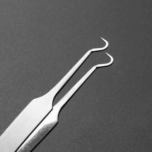 kit 3 pinças removedores cravo espinha profissional aparelho