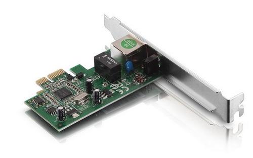 kit 3 placa de rede pcie x1 10/100/1000 tda gigabit com nota