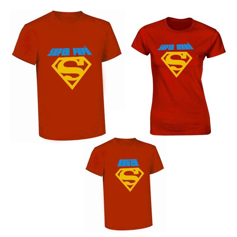 9009ab74ab92f kit 3 playeras familiar personalizada vinil textil superman. Cargando zoom.