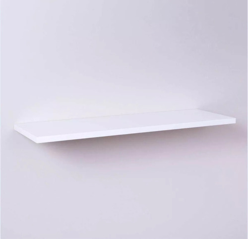 kit 3 prateleiras nicho mdf 100x25 branco 15mm 1 metro x25cm
