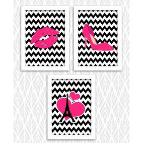 dcaa45bd4 Quadros Decorativos Para Loja De Sapato Feminino no Mercado Livre Brasil