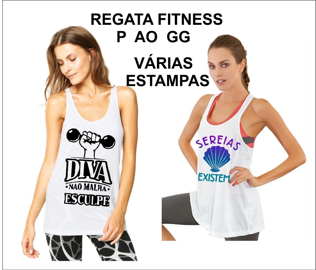 3283f334be4e6 kit 3 regatas feminina blusinha fitness academia ginástica. Carregando zoom.