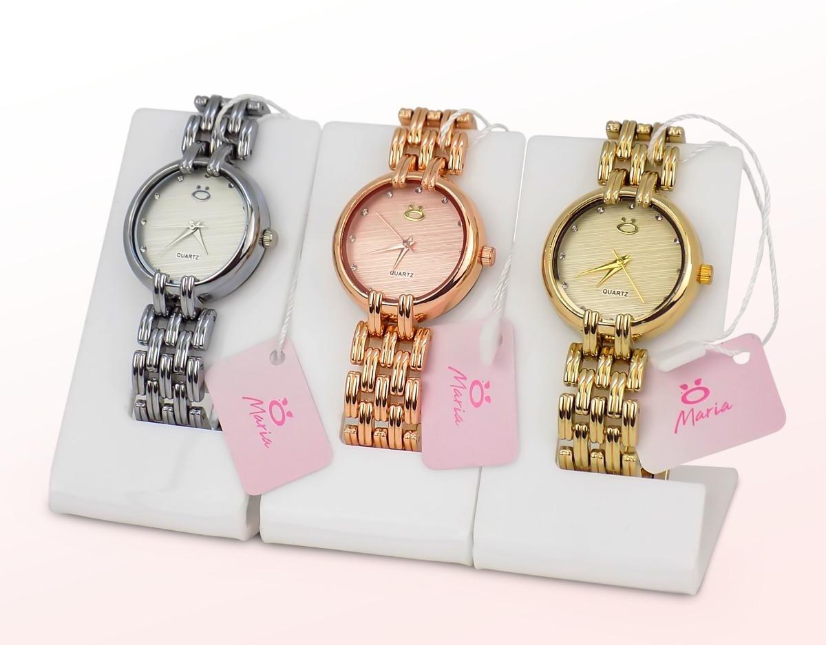 8fe0f6f7982 kit 3 relógios feminino rosê dourado original barato luxo. Carregando zoom.
