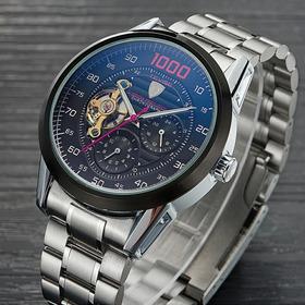 Kit 3 Relógios Mecânico Automático Tevise