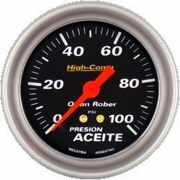 kit 3 relojes orlan rober high comp 66mm agua-aceite-volt