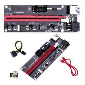 Kit 3 Riser 009s Pci-e 16x Usb 3.0 60cm Pronta Entrega