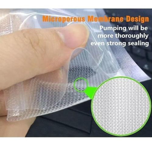 kit 3 rolos sacos texturizados para seladora 12, 20 e 25 cm