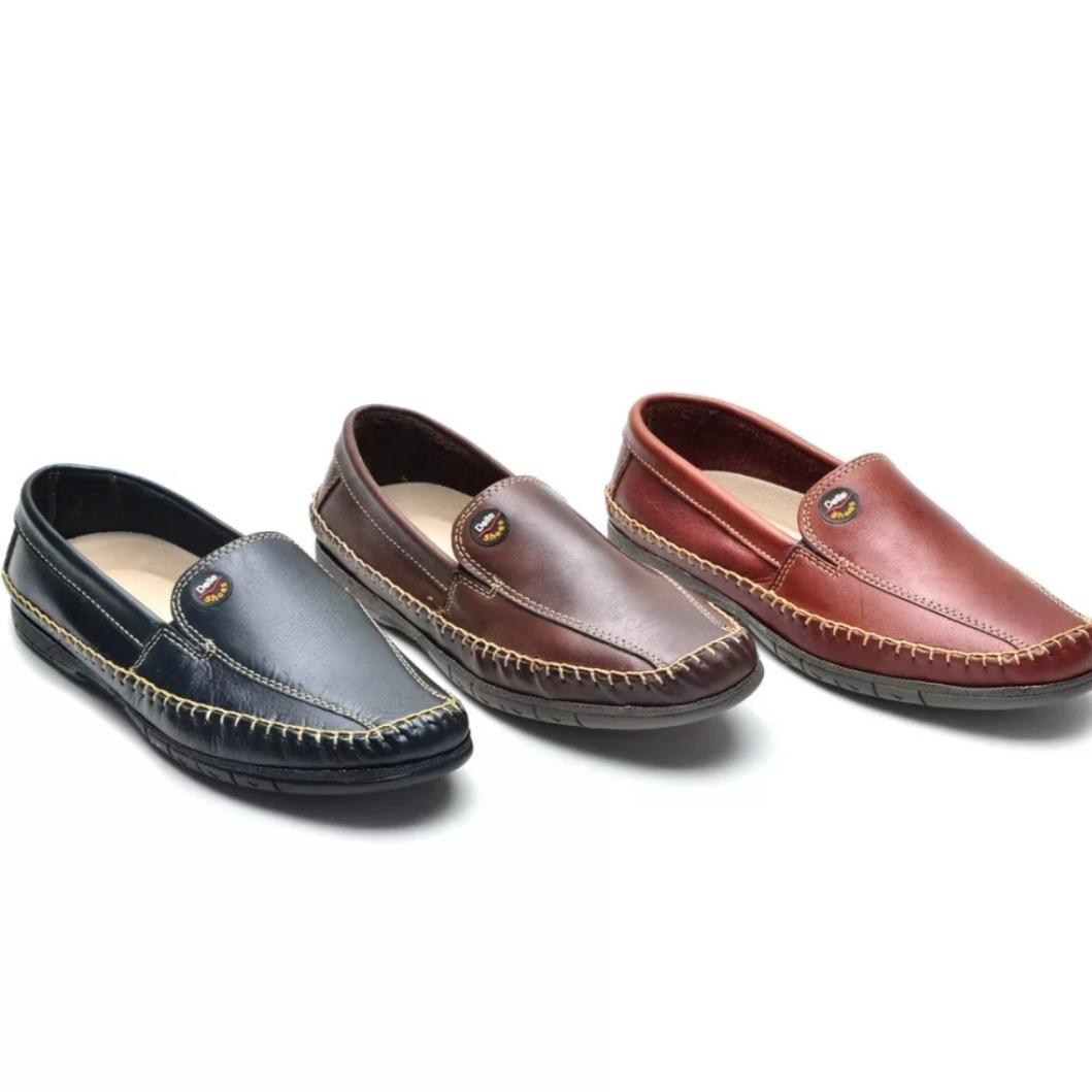 3c6e4000561 kit 3 sapatilhas confortável couro promoção black friday. Carregando zoom.