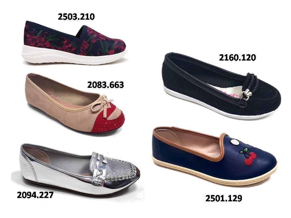 b1637c0102e kit 3 sapatilhas infantil menina molekinha promoção barata. Carregando zoom.
