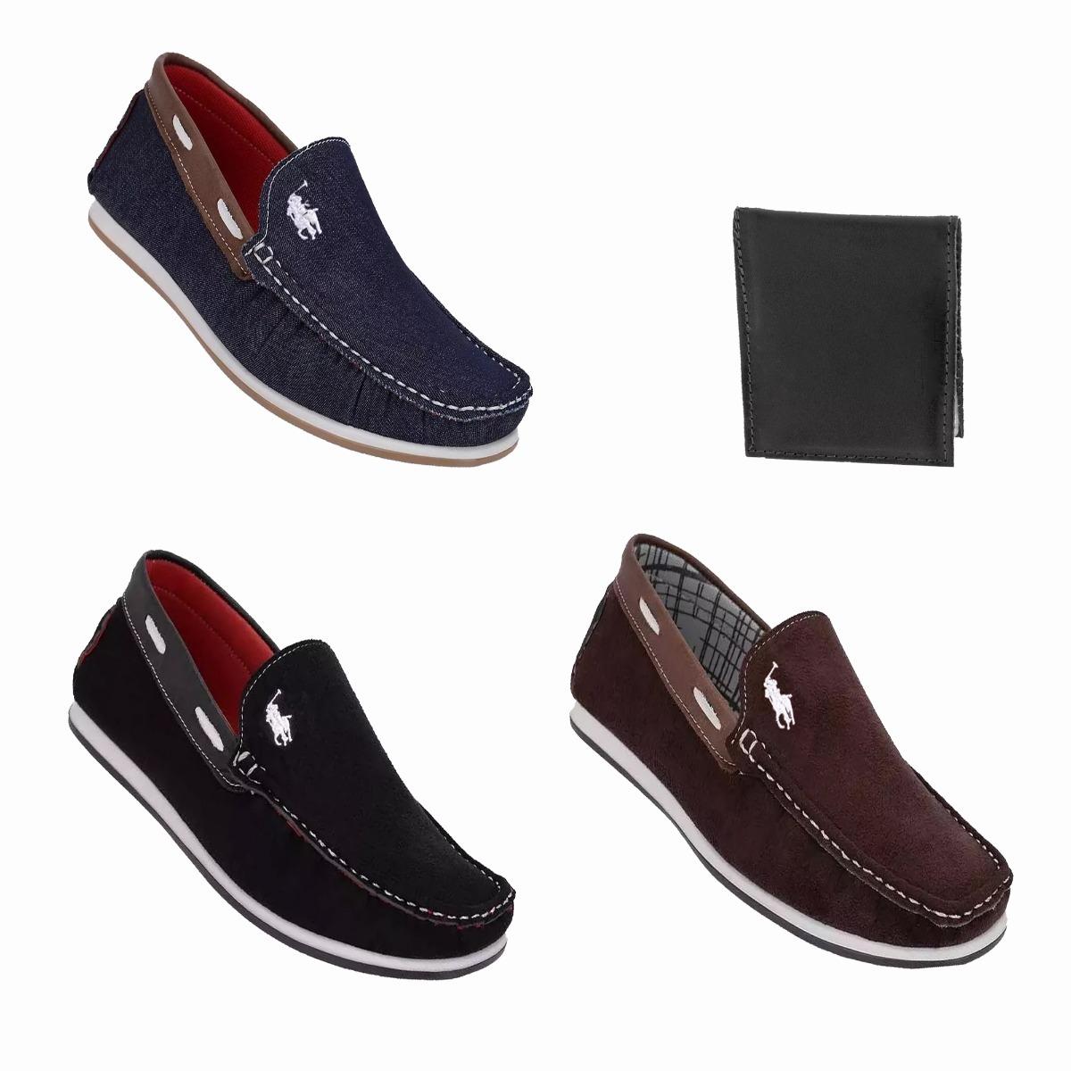 50ade573ee kit 3 sapato casual dockside mocassim masculino promoção. Carregando zoom.