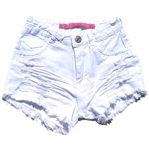 kit 3 shorts jeans femininos destroyed hot pant desfiado
