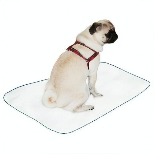 kit 3 tapetes higiênicos lavável cães cachorro xixi 60x50 p