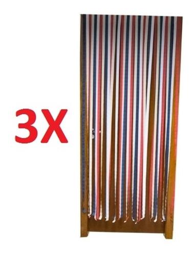kit 3 tela de proteção cortina anti isnetos universal mosqui