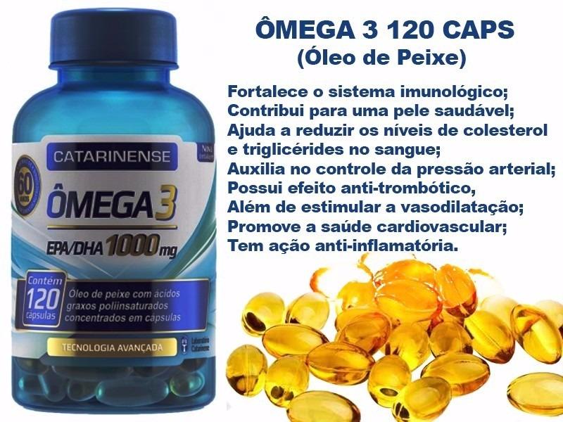 61e1bacde05 kit 3 un omega 3 catarinense 120caps 1000mg. Carregando zoom.
