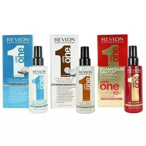 6c98864f4 Kit 3 Uniq One Revlon Hair Treatment, Trad. Coconut E Lotus. - R ...