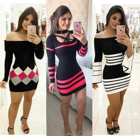 e8c8113275 Mira Luxo Moda Vestido - Vestidos Femeninos com o Melhores Preços no  Mercado Livre Brasil