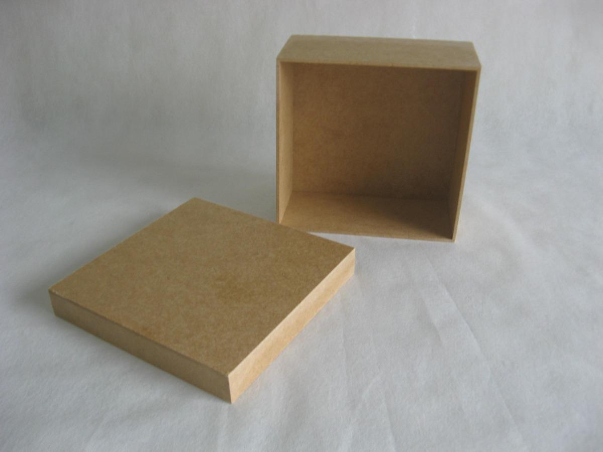 Artesanato Reciclavel Com Cd ~ Kit 30 Caixas 15x15x7 Mdf Cru Atacado Tampa De Sapato R$ 113,90 em Mercado Livre