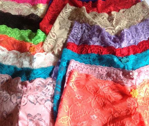 kit 30 calesson caleçon shortinho renda lingerie sexy