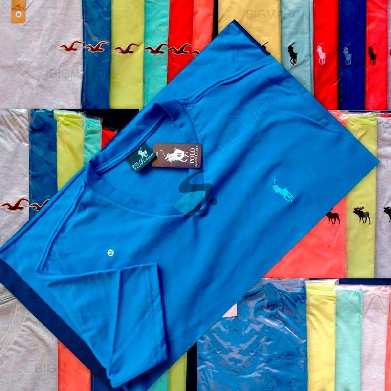 kit 30 camiseta camisa masculina de marca gola v top atacado. Carregando  zoom. 56ae73eb4330f