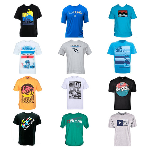 Kit 30 Camiseta Camisa Masculina Marca Estampada Top Atacado - R ... ab9a2d4c981c1