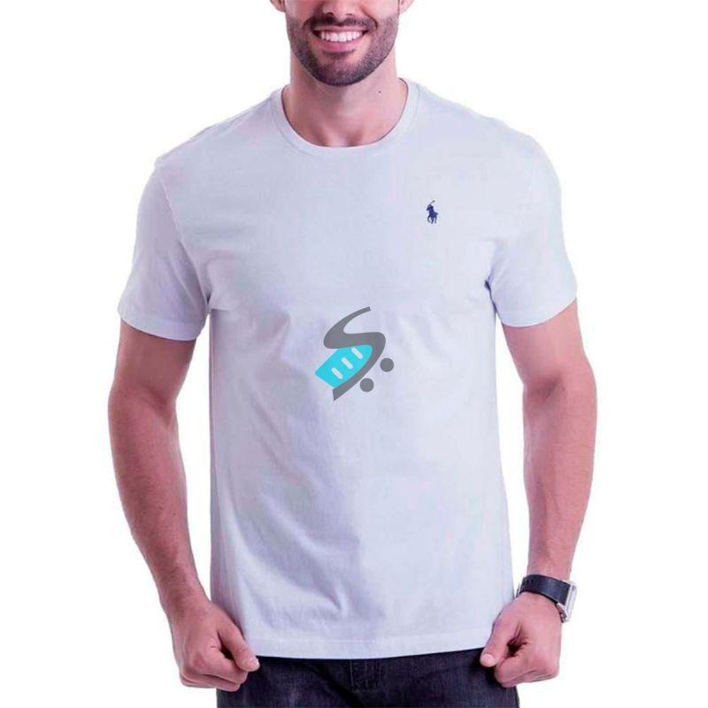 Kit 30 Camiseta Camisa Masculina Marca Logo Bordado Atacado - R  262 ... 4fe4a80c59417