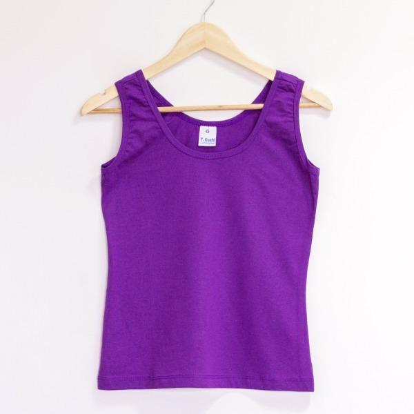Kit 30 Camiseta Regata Feminina Atacado 100% Algodão Atacado - R ... 1fcaaa56850