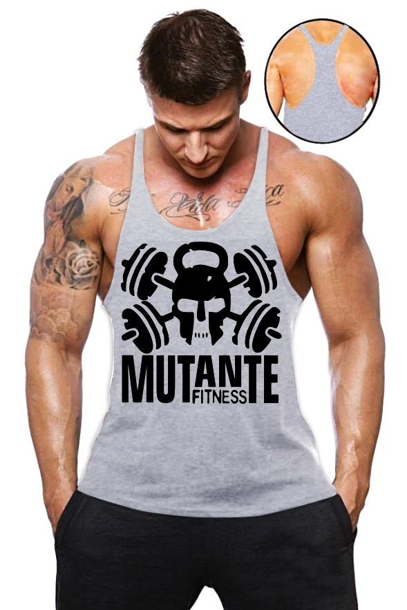 Kit 30 Camiseta Regata Super Cavada Masculina Academia Homem - R ... dbca406a145