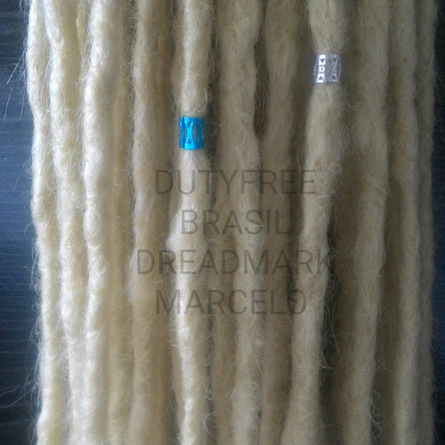 kit 30 dreads sinteticos org top 50 cm ( pontas soltas top )
