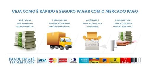 kit 30 grampos presilha fixação forro porta uno premio  elba