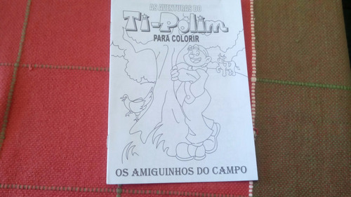 kit 30 livros infantis para colorir as aventuras do ti-polim